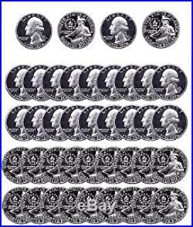1976 S Washington Quarter Proofs 1976 S Washington Quarter Proofs Roll of 40 Drummer Boy Clad Proof