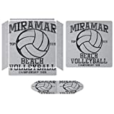 Miramar Top Gun Beach Volleyball Championship Compatible with PS4 Slim controller and console skin sticker protective cover wireless/wired gamepad controller -  Starohou