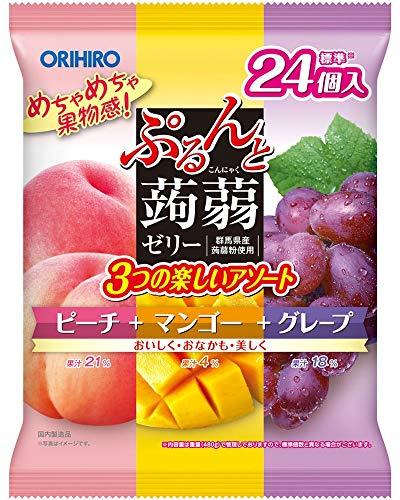 オリヒロ ぷるんと蒟蒻ゼリーパウチ