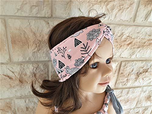 Stirnband Haarband Bandeau für Babys Mädchen Kinder Damen Mutter/Tochter