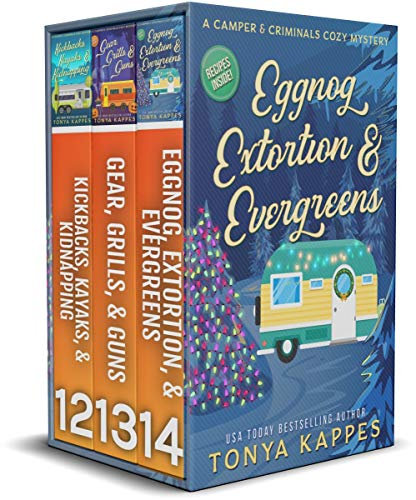 A CAMPER & CRIMINALS COZY MYSTERY BOOKS 12 - 14 by [Tonya Kappes]