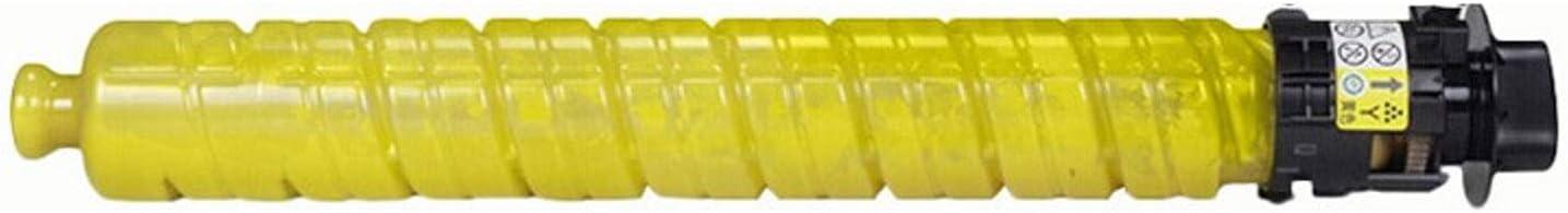 HLDC Compatible Toner Cartridge for IMC2000 IMC25000 Replacement for RICOH Aficio IMC2000 IMC2500 Color Digital Copier 15000 Pages,Y