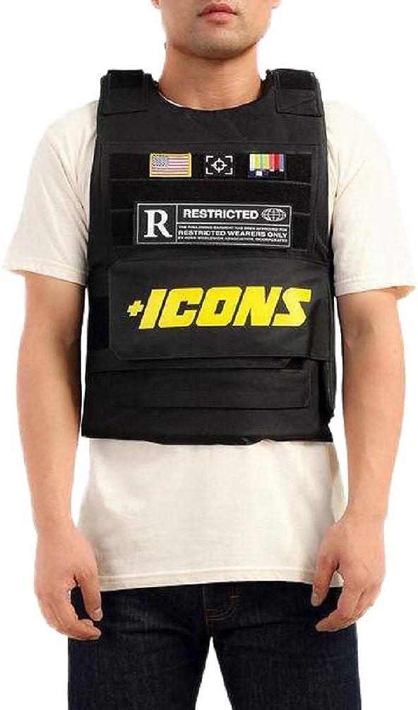 Hudson Outerwear Icons Vest (OSFA, Black)