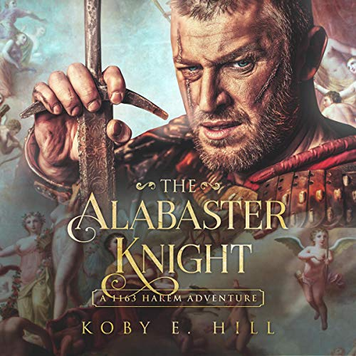The Alabaster Knight audiobook cover art
