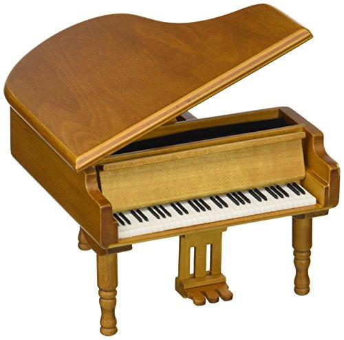 Laxxury Antique Vintage Wind Up de Madera Caja de música Piano Play Siempre Conmigo de la el Viaje de Chihiro
