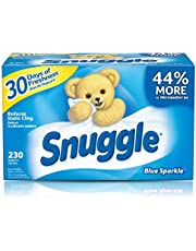Snuggle Fabric Softener Dryer Sheets, Blue Sparkle