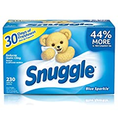 Snuggle's original Blue Sparkle scent is a fresh and clean blend of white floral and bright green citrus notes that snuggle up to warm woody notes and soft musk for a comforting, long-lasting freshness your family will love. In addition to using in t...