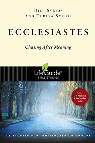 Ecclesiastes: Chasing After Meaning (LifeGuide Bible Studies) (English Edition)