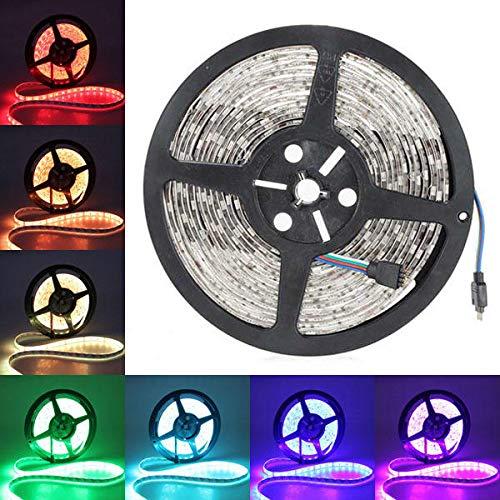 Módulo electrónico 5M 5050 SMD RGB 300 LED Tira de luz Impermeable
