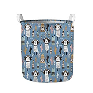 WELLFLYHOM Large Collapsible Laundry Basket Without Lid Storage Baskets Bin for Kids, Dog, Toys, Blanket, Clothes Laundry Hamper
