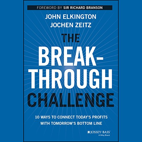 The Breakthrough Challenge audiobook cover art
