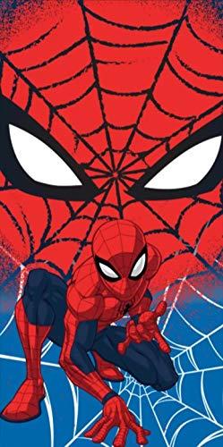 Toalla de playa Spiderman toalla de playa de microfibra 140 x 70 cm, secado rápido, ultra suave (Spiderman)