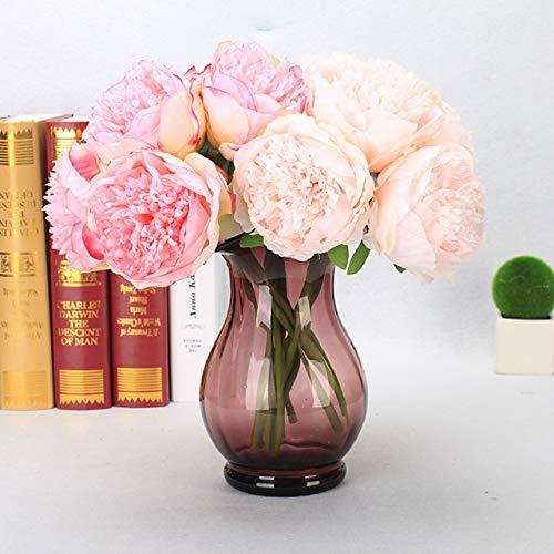 GTFHUH Kunststoff Europäisch Tisch-Blumen 5