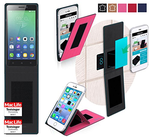 Hülle für Lenovo Vibe P1m Tasche Cover Hülle Bumper | Pink | Testsieger