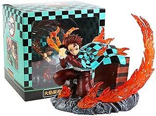 SMSZG デーモンスレイヤーKimetsuんYaiba Kamado Tanjirou Hinokami神楽版フィギュア模型玩具置物色なしボックスコードM234