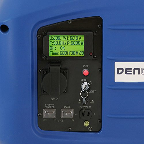 Denqbar inverter groupe électrogène digital silencieuse 2,8 kW avec E-START et REMOTE