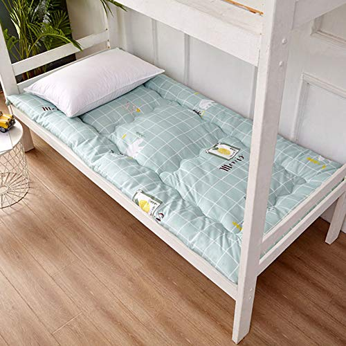 KKCD Futon Mattress,Floor Mattress for Kids,Thicken Tatami Mat Sleeping Pad,Mattress Floor Japanese Bed Roll Up,Dormitory Mattress,Floor Lounger Bed Couches,C,120x200cm(47 * 79inch)