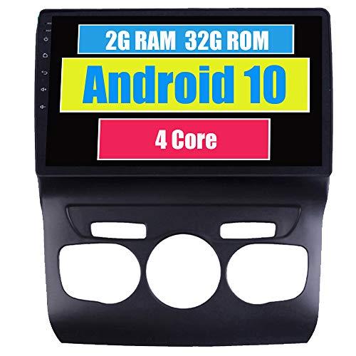 RoverOne Radio del Coche para Citroen C4 C4L 2010-2017 con Android Reproductor Multimedia Navegacion GPS Pantalla Táctil Bluetooth Estéreo WiFi USB Mirror Link