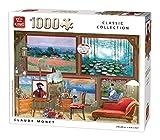 King-Claude Monet-Puzzle (1000 Piezas), Color, 68x49 cm (55864)