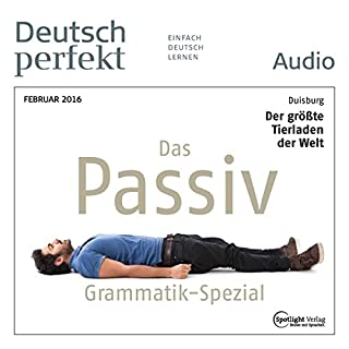 Deutsch perfekt Audio. 2/2016 Titelbild