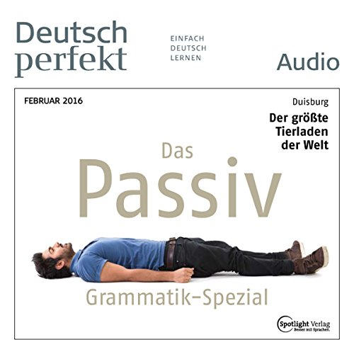Deutsch perfekt Audio - Grammatik Spezial. 2/2016 audiobook cover art