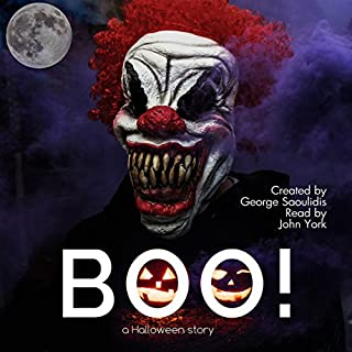 BOO! A Halloween Story audiobook cover art