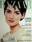 Harper s Bazaar Glamour Magazine Winona Ryder / License To Thrill December 1994