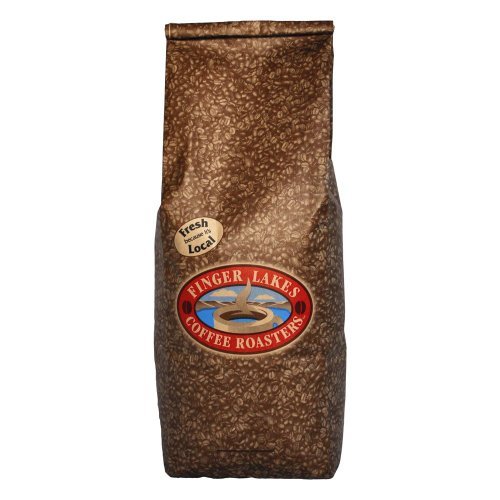 Finger Lakes Coffee Roasters, Bolivian Dark Coffee, 100% Organic/Fair Trade, Whole Bean, 5-pound bag