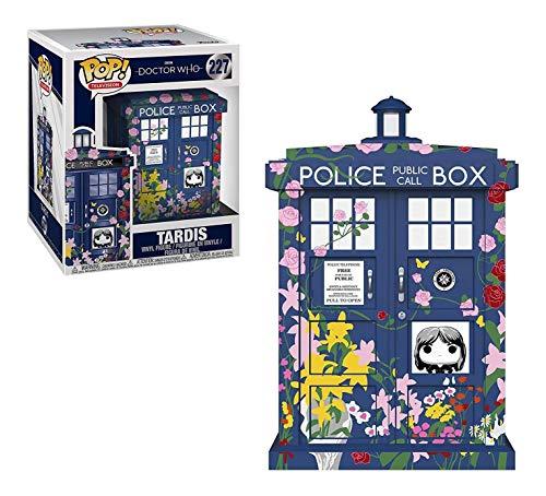 Funko Vinilo Pop 33284: Doctor Who: 6 Pulgadas Tardis (Clara Memorial), Multi