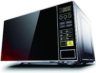 WONOOS Horno de microondas Inteligente, con función de descongelación automática, 21L de Gran Capacidad, con 4 menús para bebés, Adecuado para Calentar, cocinar, cocinar al Vapor