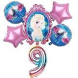Globos para fiestas Globo de 32 pulgadas 6pcs Elsa decoraciones de la...