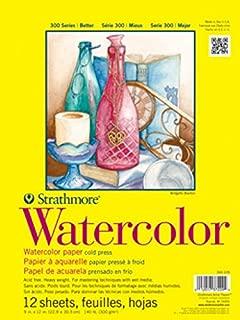 Strathmore (360-111 300 Series Watercolor Pad, 11