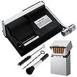Powermatic 1 Plus Elite Zigarettenstopfmaschine inkl. 1x SEPILO Alu Zigarettenbox Stopfmaschine der Extraklasse  Zubehör - Powermatic I Zigarettenstopfer / Zigarettenmaschine