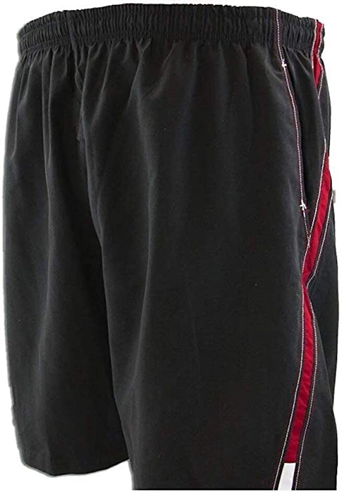Falcon Bay Big Men's Swim Trunks with Two-Tone Side Panels