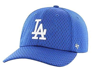 MLB Los Angeles Dodgers '47 Brand Royal Basic Logo Clean Up Home Adjustable Hat