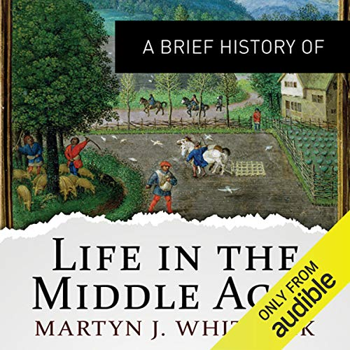 A Brief History of Life in the Middle Ages  By  cover art