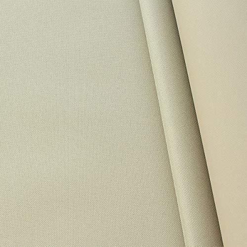 STOFFKONTOR Oxford 600D Gewebe, PVC Beschichtet wasserundurchlässig, Outdoorstoff Meterware - Beige