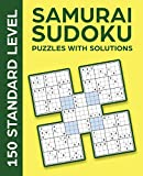SAMURAI SUDOKU PUZZLES WITH SOLUTIONS: 150...
