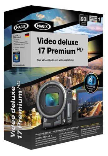 MAGIX Video deluxe 17 Premium