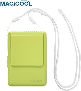 Daisaku Magicool Funda para Ventilador Cuello Cool Breeze mi Ventilador Funda para Verde