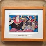 ジブリ美術館 「天空の城ラピュタ 」額装品 (検 ポスター ポストカードセル画 宮崎駿 ジブリ