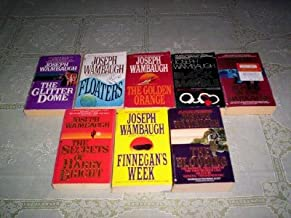 Joseph Wambaugh - (Set of 8) (The Glitter Dome - Floaters - The Golden Orange - The Black Marble - Echoes in the Darkness - The Secret of Harry Bright - Finnegan's Week - The Blooding)