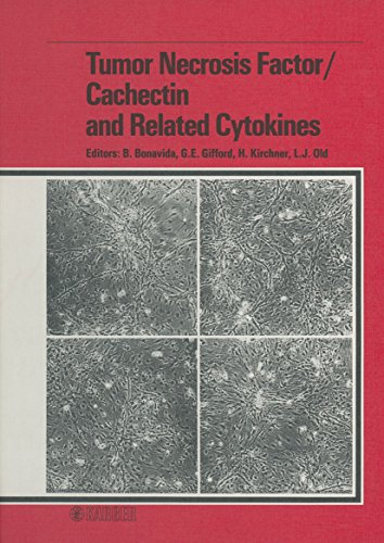 Tumor Necrosis Factor / Cachectin and Related Cytokines: International Conference on Tumor Necrosis Factor and Related Cytotoxins, Heidelberg, September 1987 (English Edition)