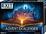 KOSMOS 681951 EXIT - Adventskalender 2021, Die Jagd nach dem goldenen Buch, mit 24 spannenden Rätseln ab 10 Jahre, Escape Room Spiel vor Weihnachten, für Kinder Jugendliche und Erwachsene