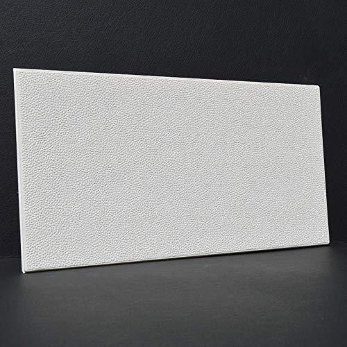 Kunstleder weiche Vorhaut Bord selbstklebende TV Hintergrund Wandaufkleber Wohnzimmer Wand Schulungsraum Kindergartentapete milchig weiß 30 * 60CM
