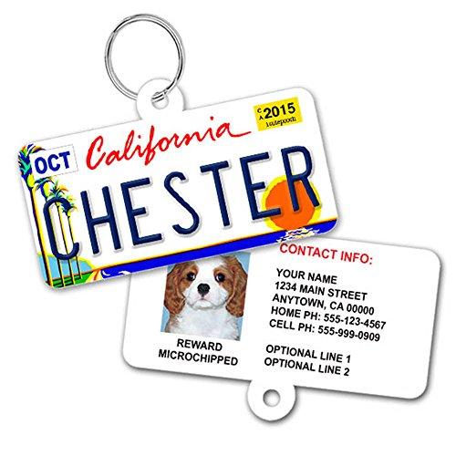 License Plate Custom Dog Tag