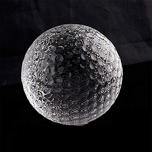 Divination Sphere Crystal Ball Fortune Telling Bal Crystal Golf Ball Figurine Glass Sphere Paper Weight Home Decor Ornaments Business Athletic Sports Globe Creative Gift Souvenir for Decorative Ball