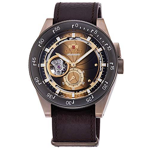 Orient Reloj Analógico para Hombre de Automático con Correa en Cuero RA-AR0204G00B