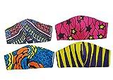 5 mascarillas de protección para la cara, unisex, color negro, lavable, transpirable, anticontaminación, motocicleta, deporte, 5 unidades, color negro