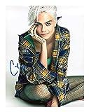 Cara Delevingne Signiert Autogramme 21cm x 29.7cm Plakat